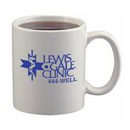 11 Oz. Ceramic White Coffee Mug